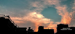Evening (sajan-164) Tags: evening crawlsin soundofdew clouds colors silhouette siddeswari dhaka bangladesh sajan164 dusk