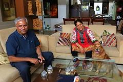 IMG_3692 (mohandep) Tags: families friends bangalore visit shaffers kalyan kavya anjana derek people