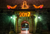 Kotor 2017 (NicoTrinkhaus) Tags: kotor crnagora montenegro oldtown architecture balkan kotoroldtown newyearseve amazing newyears celebrations 2017 christmas santa sleigh wall bricks old colours colorful decorations
