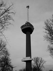 Euromast Rotterdam S/W (thomaslion1208) Tags: rotterdam niederlande holland zuidholland euromast