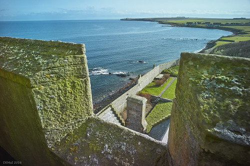 View SE from Ackergill Tower