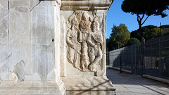 Subjugated barbarians on plinth, Arch of Constantine