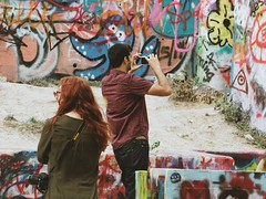 2016-12-24 11.35.05 2 (Jayme Rose Photography) Tags: austin texas graffiti wall graffitiwall spray paint spraypaint streetphotography street photoraphy canonm3 vsco vscocam portrait art artists atx keepaustinweird colorful nature outdoors instax