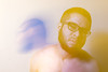 42.52 drained (pherk) Tags: canon t2i project 52 self portrait yongnuo flash orange blue motion blur upset