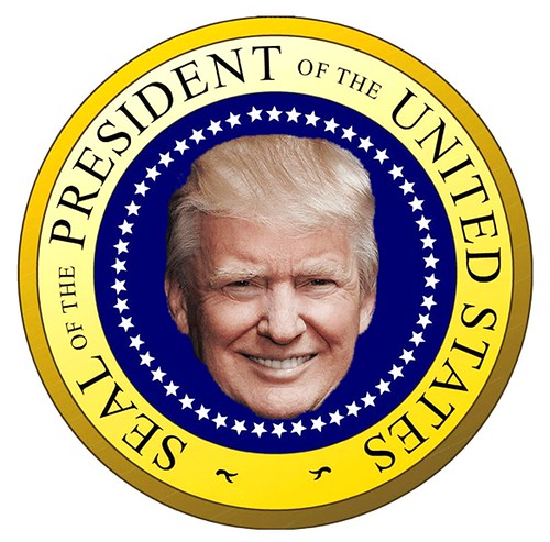 From flickr.com: President Trump Seal {MID-69765}