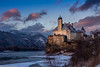 Schloß Schönbühel - Abendstimmung (AnBind) Tags: motive 2017 schönbühel österreich orte jahreszeit meinegegend winter weltkulturerbe wachau