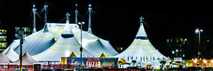 luzia closes in san francisco january 29th (pbo31) Tags: sanfrancisco bayarea night color missionbay january 2017 winter boury pbo31 dark black cirquedusoleil luzia tent show traveling white panoramic large stitched panorama