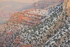 Grand Canyon 75 (Krasivaya Liza) Tags: grandcanyon grand canyon national park canyons nature natural wonder az arizona holiday christmas 2016 snowy winter cliffs cliffside edgeofcliff