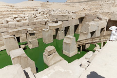 The Green Waters of the Osirion (Chris Irie) Tags: abydos seti temple egypt osirion osireion