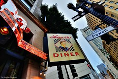 Lori's Diner on Sutter and Powell (Rex Montalban Photography) Tags: rexmontalbanphotography sanfrancisco california lorisdiner breakfast