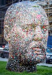 Bubble Gum Head - Douglas Coupland (stevecarney) Tags: street art outdoors douglas copeland coupland museum sculpture cool vancouver bc canada bubblegum bubble gum contempary