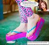 Beach House Run (Red Neptune) Tags: giantess gts feet crush stomp sandals flipflops shrunkenman asian sm