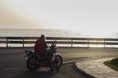 It's a long way to the top (if you wanna rock and roll) (Sergio11989) Tags: moto motorcycle harley davidson yamaha sunrise sunset smoking having break