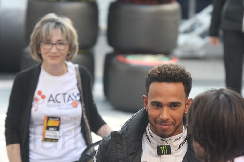 Lewis Hamilton at Formula One Winter Testing 2017