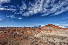 Orange palett (marko.erman) Tags: orange palett red rocks yellow desert lake mead nevada usa landscape nature dry colored multicolor sony panorama outside travel sky contrast vivid hills sandstone geology aride