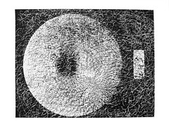 Retina6 (Federici Luca) Tags: blackandwhite bw art monochrome analog print pattern arte noiretblanc magic bn spell lith analogue magia alternativeprocess alternativephotography altprocess incantesimo altproc fotomeccanica lucafederici