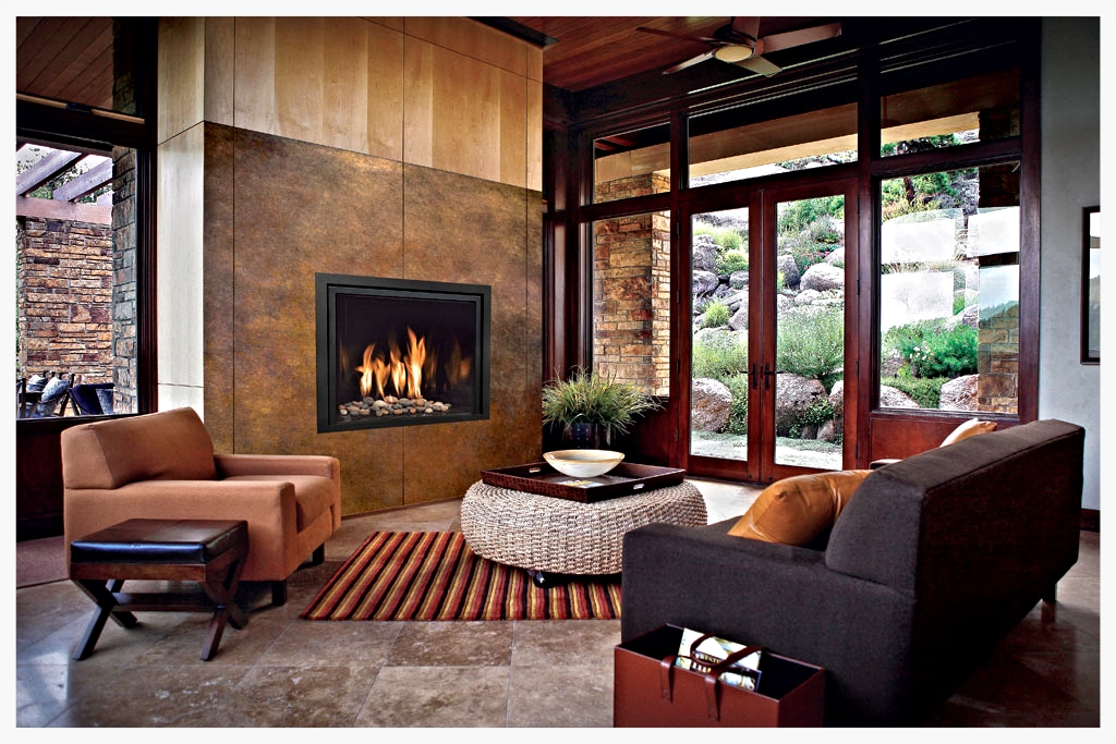 Mendota Full View 41 direct vent fireplace