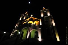 Catedral de Encarnacin (valdircodinhoto) Tags: moon paran rio canon eos rebel noche grande catedral iglesia luna noturna igreja lua noite paraguay angular templo encarnacin iluminao paraguai iluminacin itapa t5i