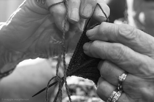 Coleen Knitting