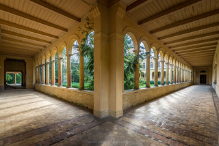 Entrance Friedenskirche - Potsdam