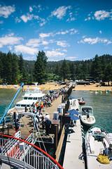 boarding. (rafael-castillo) Tags: cruise vacation boat dock nikon ship tour nevada 28mm tahoe line queue wait reno nikkor boarding loading emeraldbay aboard zephyrcove d600 primelens teamnikon 28mm18 nikond600 28mmprime 28mm18g