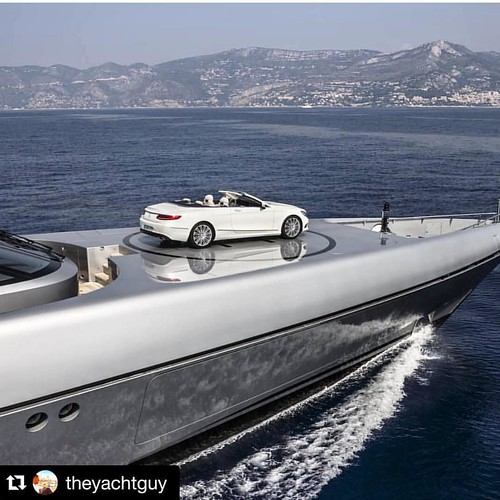 #Repost @theyachtguy with @repostapp. ・・・ Park it like its hot.... ~ @snoopdogg | Photo via @silveryachts