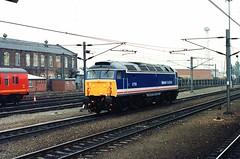 47709 (Sparegang) Tags: britishrail 1990 doncaster sulzer 477 47709 class47 networksoutheast brushtype4 easternregion