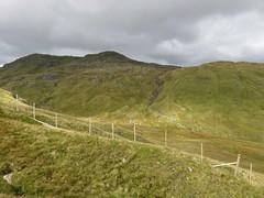 Creag Mhor and Beinn Heasgarnich deer fence (ancanchaWH) Tags: highlands walk mhor beinn creag heasgarnich