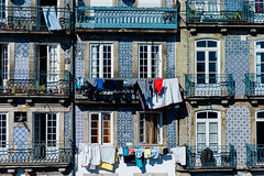 Laundry Day (DIAM89) Tags: leica travel portugal architecture facade porto laundry travelphotography vsco leicam9 vscofilm
