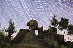 (Vladimir Ivanov Photography) Tags: old light history monument night stars photography rocks bulgaria startrails retrospect