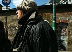 One Direction (Becky Frances) Tags: bricklane beckyfrances city candid colour england eastlondon eastend london lensblr market olympus portrait red streetphotography shoreditch streetportrait urban uk 2015