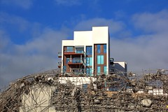 demolition - aalborg dk (Rasande Tyskar) Tags: city building industry site construction down demolition silo baustelle trümmer housing dänemark danmark gebäude aalborg abriss indusrie debries