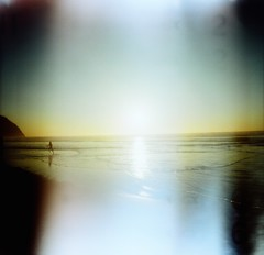 """And in that moment, I swear we were infinite."" (liquidnight) Tags: sunset oregon analog mediumformat seaside lomo xpro lomography crossprocessed kodak toycamera lightleak diana quotes dreamy oregoncoast analogue dianaf vignetting ektachrome e100gx dreamscape expiredfilm filmphotography theperksofbeingawallflower stephenchbosky"