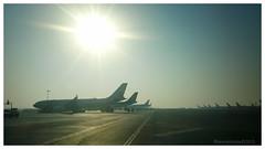 The runway (Rhannel Alaba) Tags: brazil airplane airport samsung international abudhabi airbus manila salvador passenger paulo sao terminal3 etihad pido alaba note2 rhannel