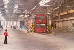 DMS 352 JGF352K Tottenham Garage open day , 12/7/80 (busmothy) Tags: ar openday buswash tottenhamgarage dms352 jgf352k