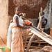 Female artisanal miner
