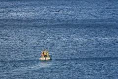 Alone... (pmenge) Tags: mar barco fernandodenoronha 100400 7dii