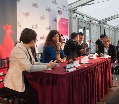 TODAY AT THE WEB SUMMIT THERE WAS A PRESS CONFERENCE HOSTED BY AXELLE LEMAIRE [FRENCH MINISTER RESPONSIBLE FOR DIGITAL AFFAIRS]-109906