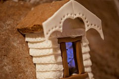 Attic reflections.... (ineedathis, the older I get, the more fun I have!) Tags: window reflections baking attic gingerbreadhouse windowsill windowpane gelatine modelmaking gumpaste sugarwork christmas2015 nikond750