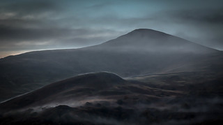 Early Mist On Moel Eilio