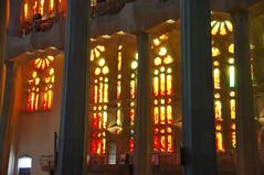 Barcelone (Catalogne/Espagne) (PierreG_09) Tags: barcelona espaa architecture spain vitrail gaudi passion catalunya espagne glise catalua barcelone modernisme clocher sagradafamlia antonigaudi espanya catalogne