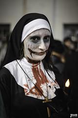 Zombies Walk (MagiCshoot) Tags: portrait france walk religion zombies marche nantes soeur peur terreur religieuse pieuse