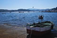 Combarro (jesuspnavarro) Tags: espaa azul mar spain barca galicia galiza espagne ria oceano combarro atlantico galice