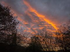 Sonnenaufgang in Eving