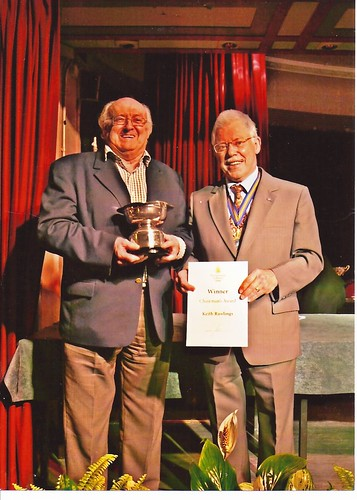 2008 Chairman's Award to Keith Rawlings by the Mayor, Stephen Chappellby Rad Howard