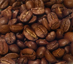 Coffee beans macro, focus stacking (F) Tags: coffee beans
