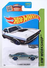 HOT-2015-277-Dodge-Zamac (adrianz toyz) Tags: diecast toy model car hot wheels zamac walmart 2015 1971 dodge challenger