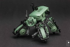 Makino S-56 (Cole Blaq) Tags: ai coleblaq thinktank mech mecha model multiped robot scifi weapon brickarms