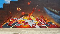 Sabeth... (colourourcity) Tags: sabeth siloet sabs s4be7h king bunsenburner burner burneroftheyear bestof2016 awesome colourourcity melbourne burncity nofilters epic thebest clean fresh colourourcityburners hot flames burn red dope