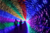 Rainbow tunnel (MelindaChan ^..^) Tags: guangzhou china chanmelmel mel melinda melindachan light festival guangzhoulightfestival 廣州 長洲島 night color colorful